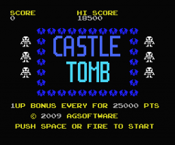 Castle Tomb (2009, MSX, AG Software)