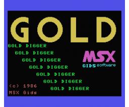Gold Digger (1986, MSX, MSX Gids)