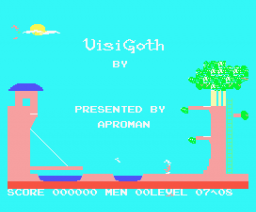 Visi Goth (1985, MSX, Soft Pro International)