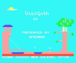 Visi Goth (1985, MSX, Soft Pro)