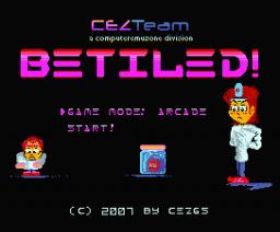BeTiled! (2007, MSX, MSX2, CEZ GS)