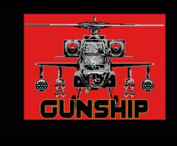 Gunship (1989, MSX2, Microprose)