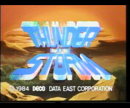 Thunder Storm (1985, MSX, Victor Co. of Japan (JVC))