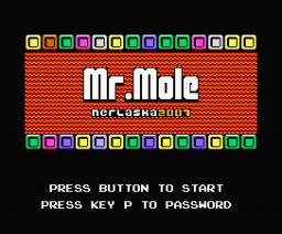 Mr. Mole (2007, MSX, MSX2, Nerlaska)