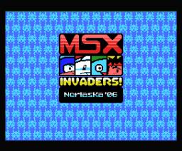 MSX Invaders!  (2006, MSX, Nerlaska)