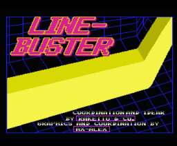 Line-Buster (1991, MSX2, Raketto & Co & Ax-Alex )