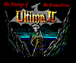 Ultima II - The Revenge of the Enchantress (1989, MSX2, Origin Systems)