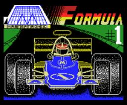 Formula 1 Simulator (1985, MSX, Mastertronic)