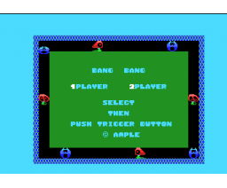 Bang! Bang! (1985, MSX, Ample Software)