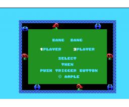 Bang! Bang! (1985, MSX, Ample Software)
