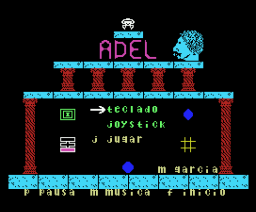 Adel (1986, MSX, Mind Games España)