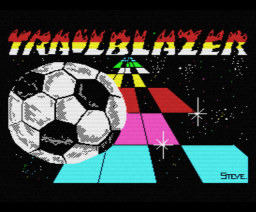 Trailblazer (1986, MSX, Gremlin Graphics)
