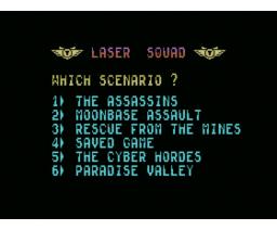 Laser Squad (1988, MSX, Target Games)