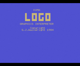 Kuma Logo (1984, MSX, Kuma Computers)