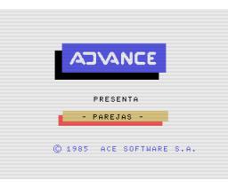 Parejas (1985, MSX, Ace Software S.A.)