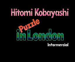 Hitomi Kobayashi - Puzzle in London (1988, MSX2, Informercial)