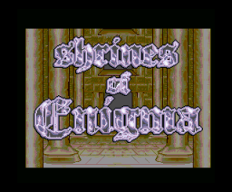 Shrines of Enigma (1994, MSX2, Element)