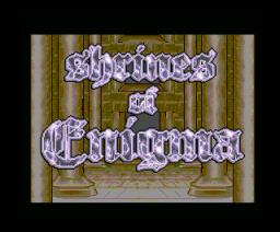 Shrines of Enigma (1994, MSX2, Element)