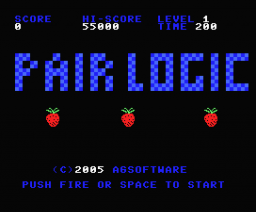 Pair Logic (2005, MSX, AG Software)