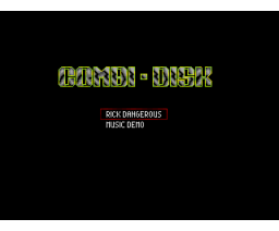 Combi-Disk (1993, MSX2, Paragon Productions)