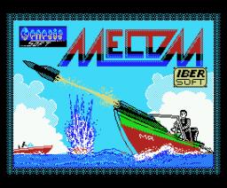 Mecom (1988, MSX, Genesis Soft)