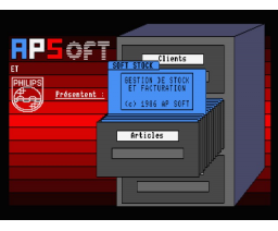Soft Stock (1986, MSX2, AP Soft)