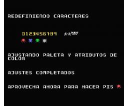 Alien Panic!! (2014, MSX, Oniric Factor)