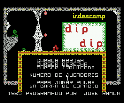 Dip Dip (1985, MSX, Indescomp)