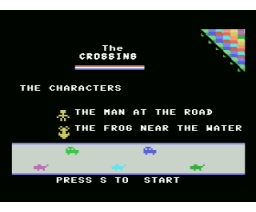 The Crossing (1985, MSX, Unknown)