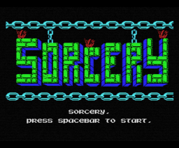 Sorcery (1985, MSX, Virgin Games)