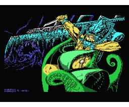 Titanic (1988, MSX, Topo Soft)