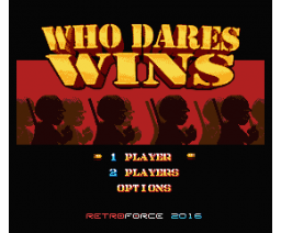 Who Dares Wins REMAKE (2016, MSX2, MSX2+, Turbo-R, Retroforce)