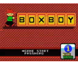 Box Boy (2008, MSX, ICON Games)