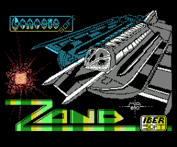 Zond - The Final Combat (1988, MSX, Genesis Soft)