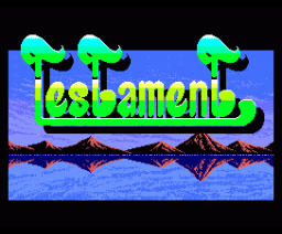 Testament (1988, MSX2, Basho House)