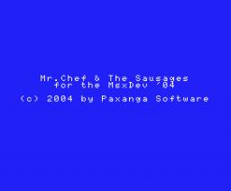 Mr. Chef & the Sausages (2004, MSX, Paxanga Soft)