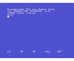 RSC (MSX, Manhattan Transfer)