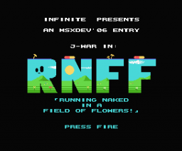 Running Naked in a Field of Flowers (2006, MSX, Infinite)
