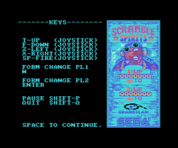 Scramble Spirits (1990, MSX, Grandslam Entertainments)