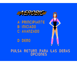 Aerobic (1986, MSX2, Spinnaker Software Corporation)