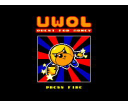 UWOL, Quest for Money (2016, MSX2, Imanok)