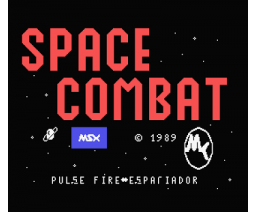 Space Combat (1989, MSX, OMK Software)