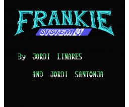 Frankie (1988, MSX, System 4)