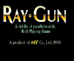 Ray Gun (1990, MSX2, Elf Co.)