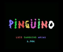 Pingüino, El (1986, MSX, Grupo de Trabajo Software (G.T.S.))