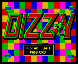 Dizzy (1991, MSX2, MSX-Engine)