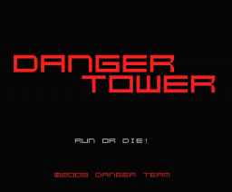 Danger Tower (2008, MSX, Danger Team)