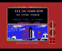 Discovery (1988, MSX, Eurosoft)