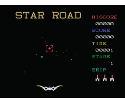 Star Road (MSX, Grupo de Trabajo Software (G.T.S.))