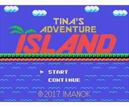 Tina's Adventure Island (2017, MSX2, Imanok)